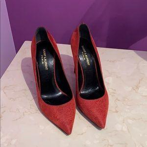 Saint Laurent Red Stilettos